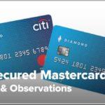 Citi Secured Credit Card Benefits