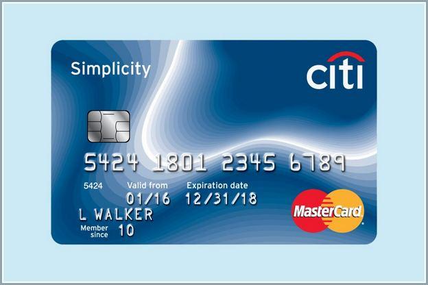 Citi Simplicity Credit Card Sign In