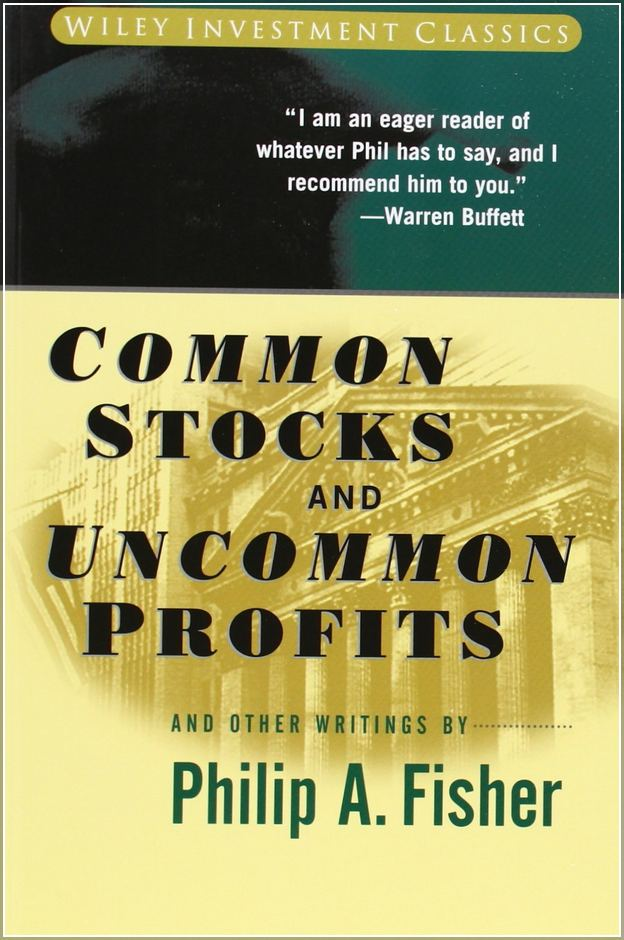 Common Stocks And Uncommon Profits By Fisher