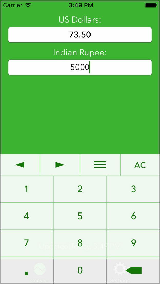 Convert Dollars To Rupees Calculator