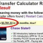 Credit Card Apr Calculator Balance Transfer