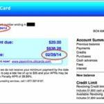 Credit Card Closing Date Due Date