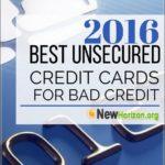 Credit Cards For Bad Credit No Deposit No Fees