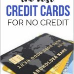 Credit Cards For No Credit History Uk