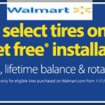 Does Walmart Install Tires Free With Purchase