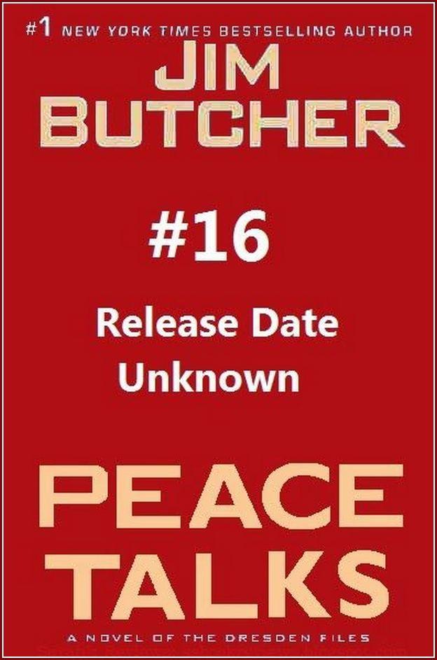 Dresden Files Book Peace Talks Release Date