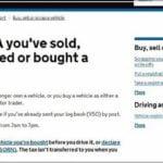 Dvla Change Of Ownership Postal Address