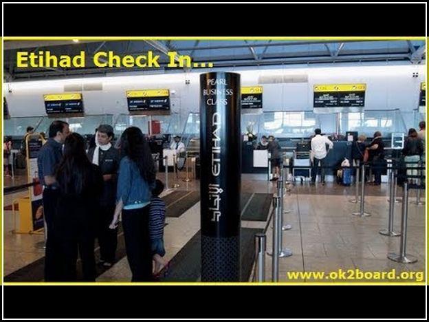 Etihad Check In Online