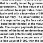 Face Value Definition Finance