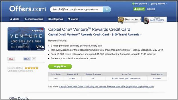 Find My Card Offer Capital One