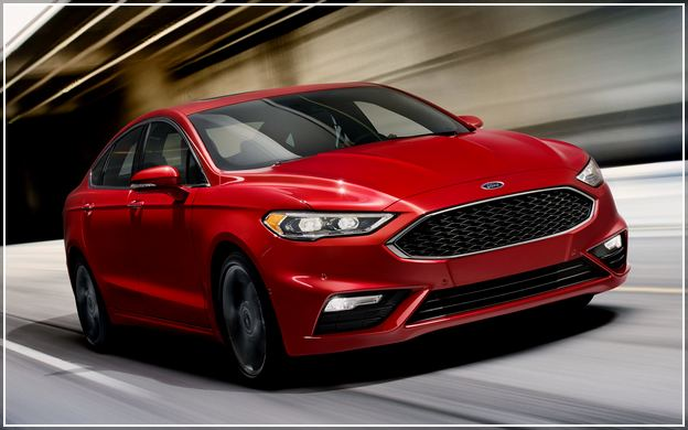 Ford Fusion Lease 2018