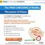 Free Checking Account No Opening Deposit
