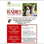 Free Rabies Clinic Near Me 2018