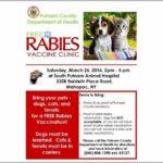 Free Rabies Clinic Near Me 2019