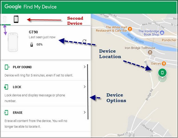Google My Devices Location