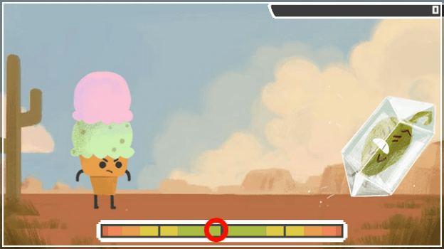 Google Pepper Game
