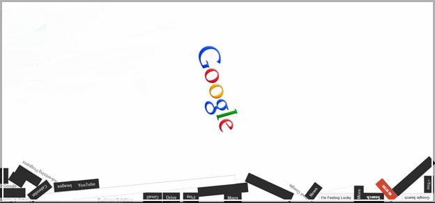 Google Zero Gravity Flat Fall