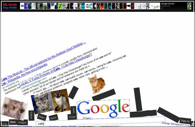 Google Zero Gravity Poop