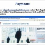Government Citi Travel Card Online Payment