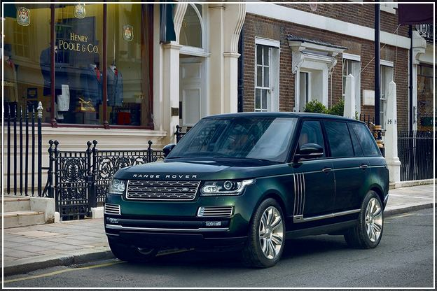 Holland And Holland Range Rover