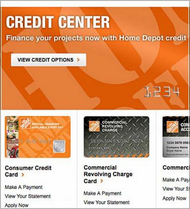 Home Depot Credit Card Payment Calculator