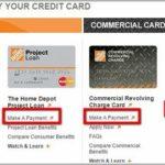 Home Depot Credit Card Payment Methods
