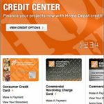 Homedepot Credit Card Payment