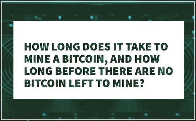 How Long Does It Take To Mine A Bitcoin With Asic