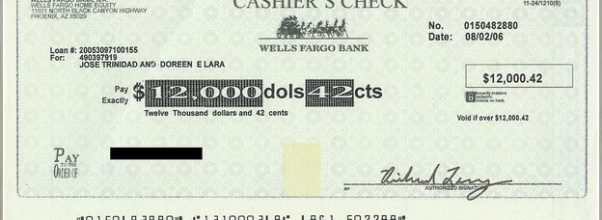 How To Cash A Cashier's Check At Bank Of America
