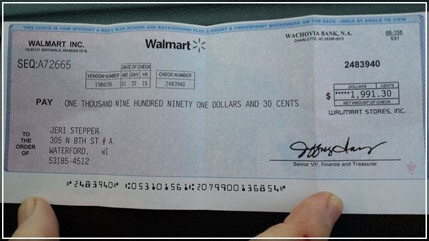can i purchase a cashiers check at walmart