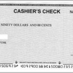 How To Cash A Cashier's Check Without Bank Account