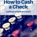 How To Cash A Check Without A Bank Account Bank Of America