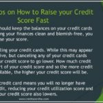 How To Increase My Credit Score Fast