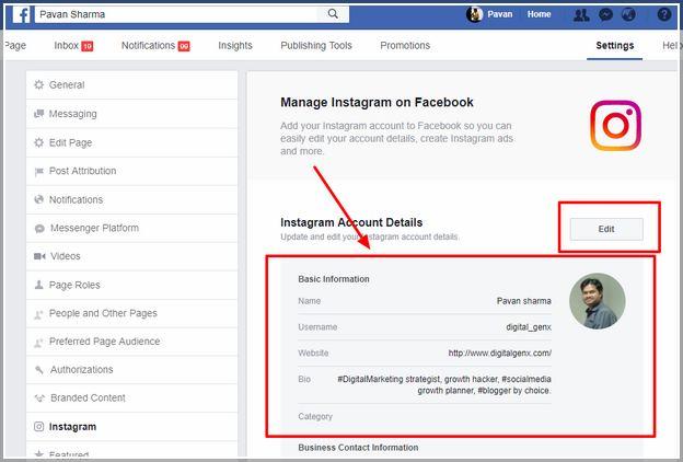 How To Link Facebook To Instagram On Desktop