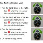 How To Open A Locker Combo