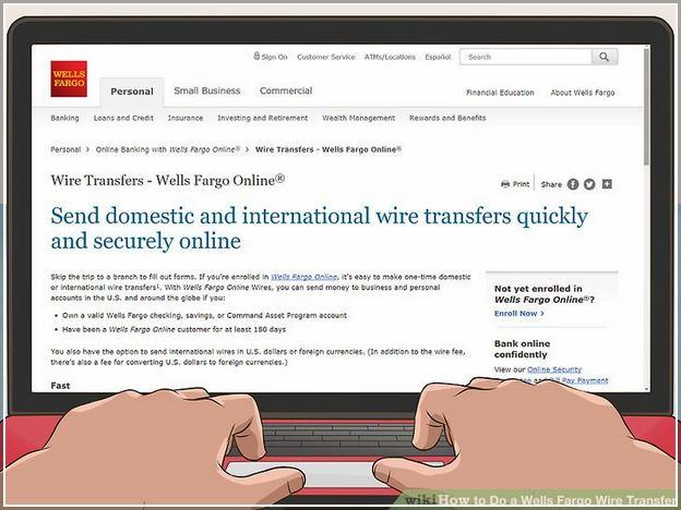 How To Wire Money Online Wells Fargo