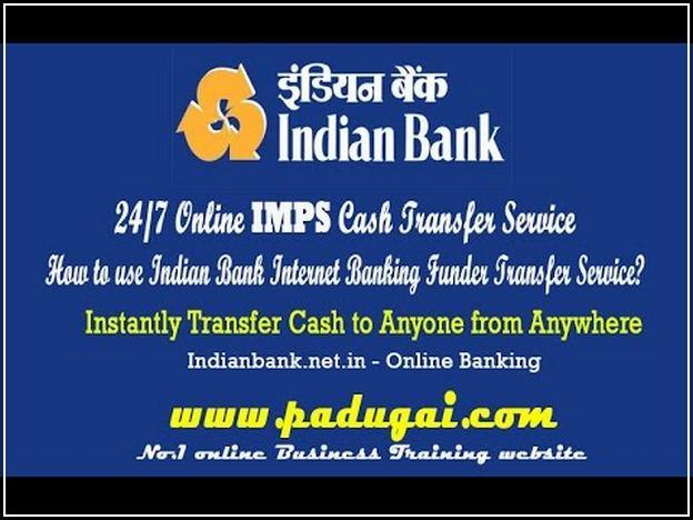 Indian Bank Net Banking Create