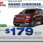 Jeep Cherokee Lease Specials
