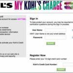 Kohls Credit Card Account Sign In