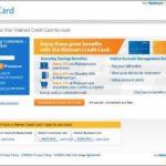 Manage Walmart Credit Card Login