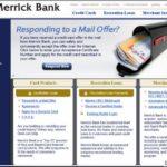 Merrick Bank Online Credit Card Login