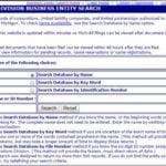 Michigan Business Entity Search Lara