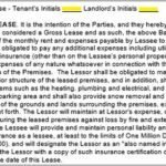 Modified Gross Lease Base Year