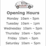 Money For Your Motors Opening Hours