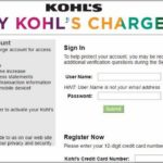 My Kohl's Charge Account Pay Bill