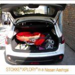 Nissan Qashqai Boot Space Pram