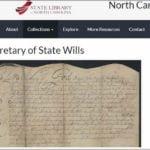 North Carolina Secretary Of State Business Entity Search