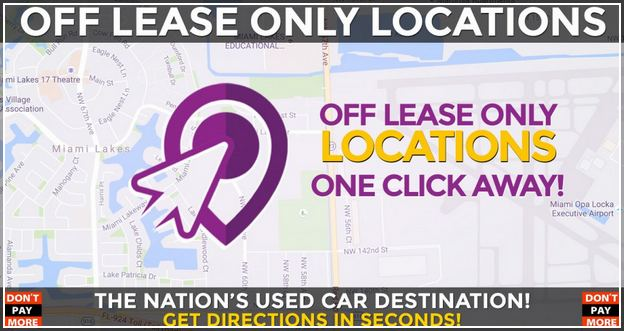 Off Lease Only Miami Trucks