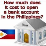 Open Bank Account Online No Deposit Philippines