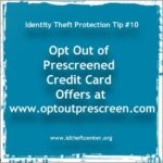 Opt Out Of Business Credit Card Offers